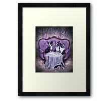 The Weird Litter Mates Framed Print