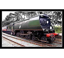 Biggin Hill Steam loco Photographic Print