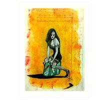 The Love Terrorist Art Print