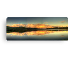 Mirror - Narrabeen Lakes, Sydney,Australia - The HDR Experience Canvas Print