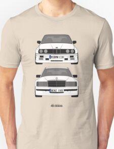 Mercedes-Benz 190E 2 3-16 vs E30 BMW M3 T-Shirt