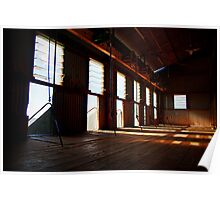 Shearing Shed!  Poster