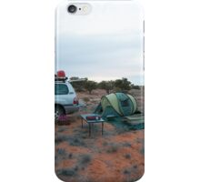 Campsite Hay River Track, Simpson Desert, NT iPhone Case/Skin