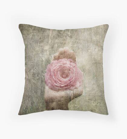Peaceful  Heart Throw Pillow
