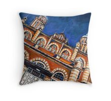 The Old Museum Throw Pillow