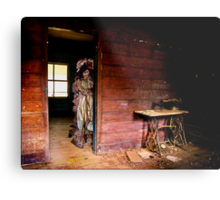 the Singer Metal Print