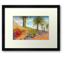 Beaconsfield Parade, Port Melbourne ... Framed Print