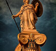 Greece. Athens. The statue of Athena. by vadim19