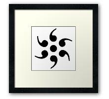 semicolon Framed Print
