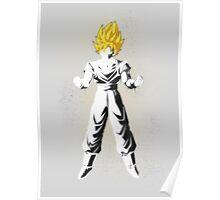 Goku Stencil Poster