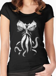 Cthulhu wakes Women's Fitted Scoop T-Shirt
