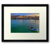 Harbour Collection Framed Print