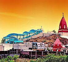 Temple by Vinod Khapekar