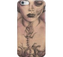 Her Last Breath Before Waking iPhone Case/Skin