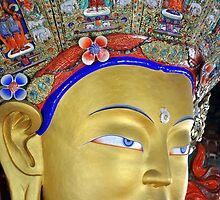 Maitreya Buddha by Dan Bronish
