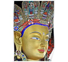 Maitreya Buddha Poster