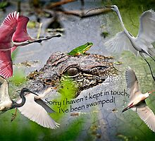Sorry I haven't kept in touch; I've been SWAMPED! by Bonnie T.  Barry