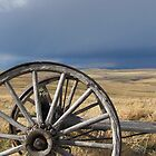 Weathered Wheel by Kathi Arnell