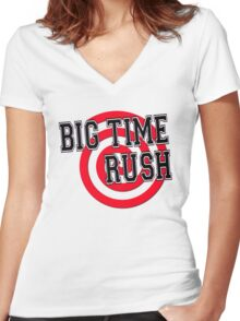 Big Time Rush Women's Fitted V-Neck T-Shirt