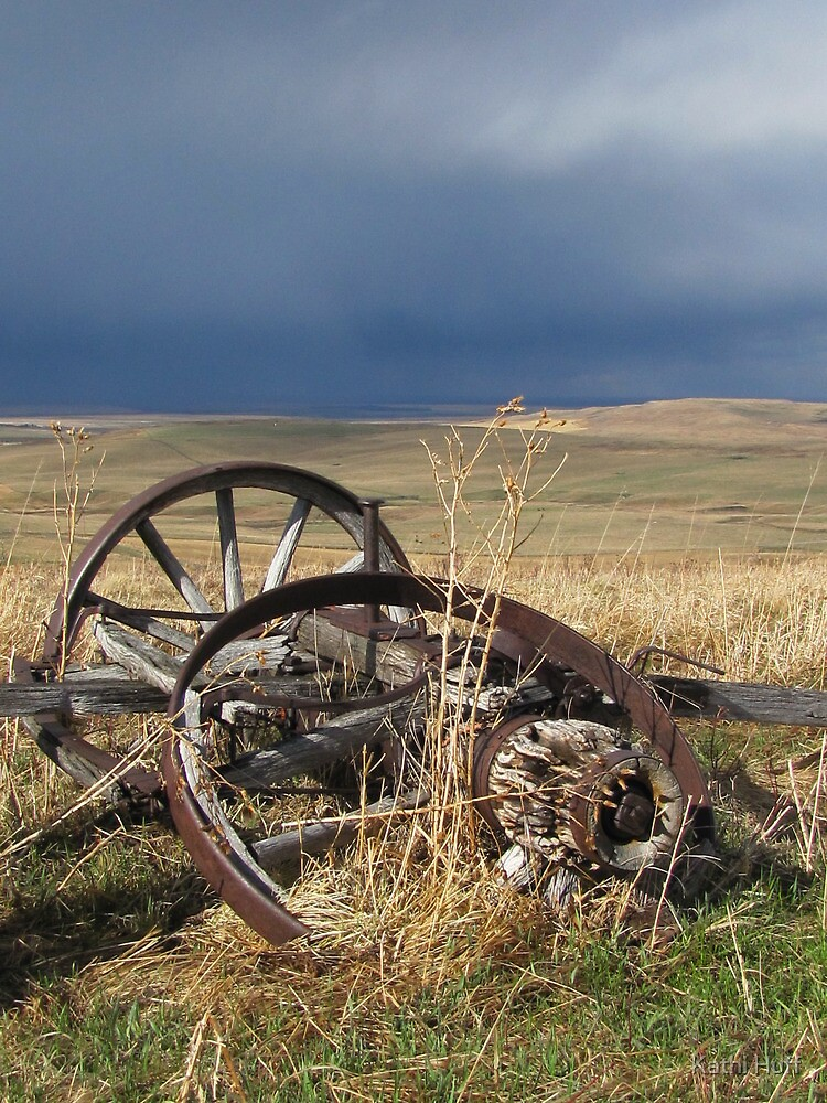 Stormy Wheels by Kathi Huff