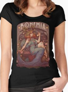 BOHEMIA Women's Fitted Scoop T-Shirt