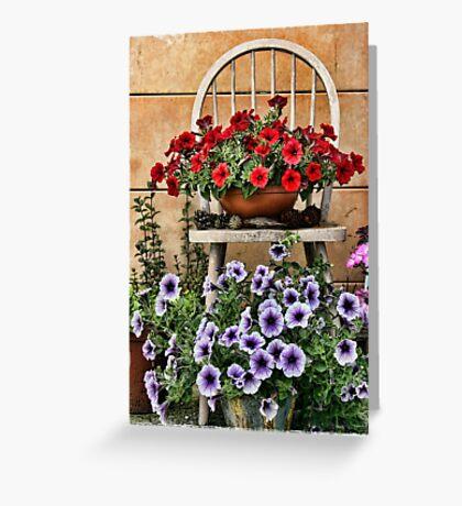 My Summer Garden Greeting Card