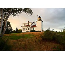 Fort Point Lighhouse Photographic Print