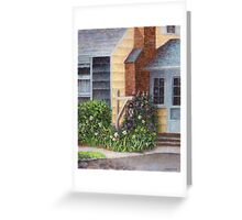 Carriage Lamp Greeting Card