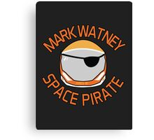 Mark Watney, Space Pirate. Canvas Print