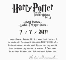 Harry Potter 7 part 2 world premiere by Egery