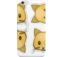 Kitty Cat Emoji  iPhone Case/Skin