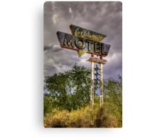 Los Alamos Motel on Route 66 Canvas Print