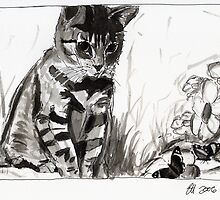 Butterfly Tabby by Elisabeth Hurley
