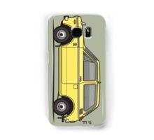 Honda N360 Yellow Kei Car Samsung Galaxy Case/Skin