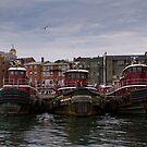 Tug Boats waiting by Marzena Grabczynska Lorenc