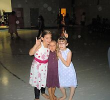 grandaughters at school dance by maggie1957
