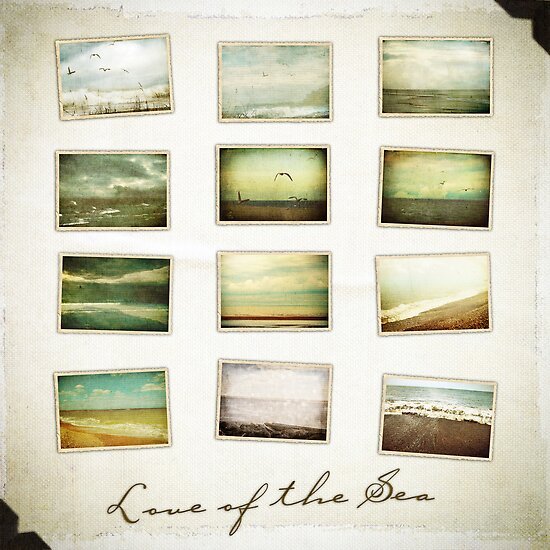 Love of the Sea - Cover Page by Sybille Sterk