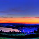 Twilight from Mt Zug - HDR Panorama by Luke Griffin