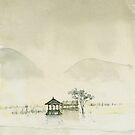 pagoda by Natalya   Tabatchikova
