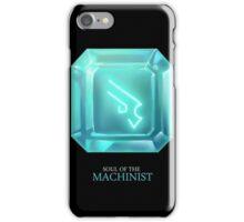 Soul of the Machinist -black iPhone Case/Skin