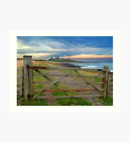 Dunstanburgh Castle, Northumberland Art Print