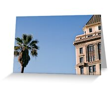 Vertical Objects - Sacramento Greeting Card