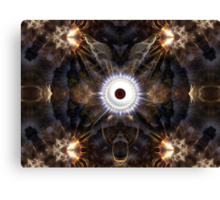 The Eye Of Night Canvas Print
