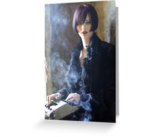 Candace - Cemetery Girl Greeting Card