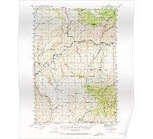 USGS Topo Map Oregon Eagle Rock 282442 1946 62500 Poster
