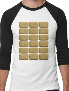 Nice Biscuits Men's Baseball ¾ T-Shirt