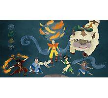Team Avatar! Photographic Print