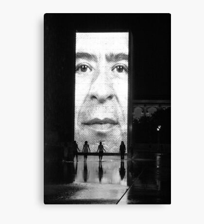 Crown Fountain Canvas Print