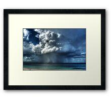 An Esperance Storm Approaching Framed Print