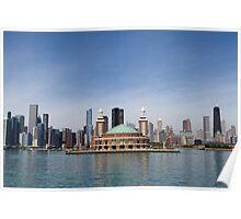 Chicago Navy Pier Poster